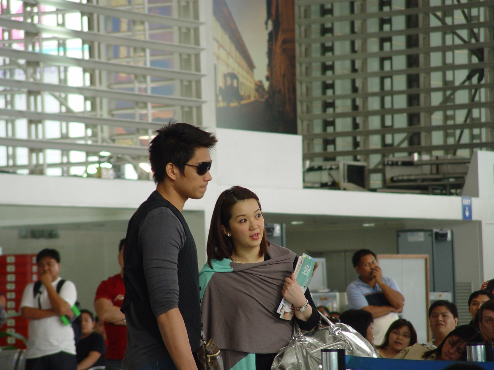 naia, airport, kris aquino, james yap