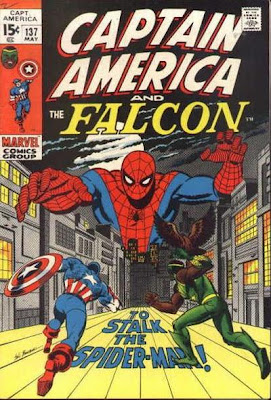 Captain America #137, Spider-Man