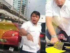 Pemilik Mobil Mewah yang Injak-injak Mobil Orang di Tol Pancoran Dibekuk