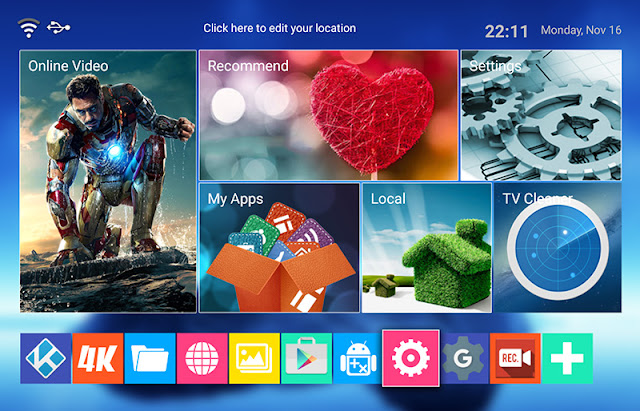 Mediaplayer TV MXQ 4k -Firmware iulie 2017