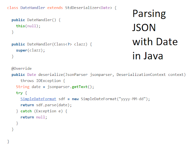 How to parse JSON with date field in Java - Jackson @JsonDeserialize Annotation Example