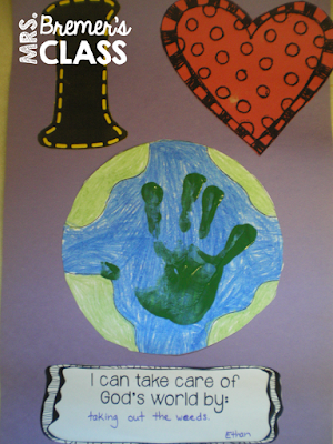 Earth Day activities for Kindergarten #earthday #kindergarten