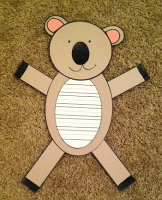 https://www.teacherspayteachers.com/Product/Koala-Craft-and-Writing-2397320