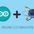 Simulasi Proteus Arduino-LCD 16x2 dengan I2C
