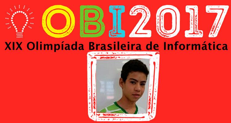 José Anderson Amorim selecionado para Olimpíadas de Programação
