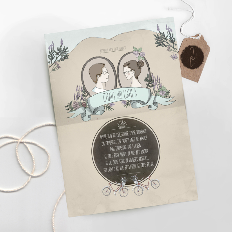 Gotcha Covered: Illustrated Wedding Stationery Inspiration