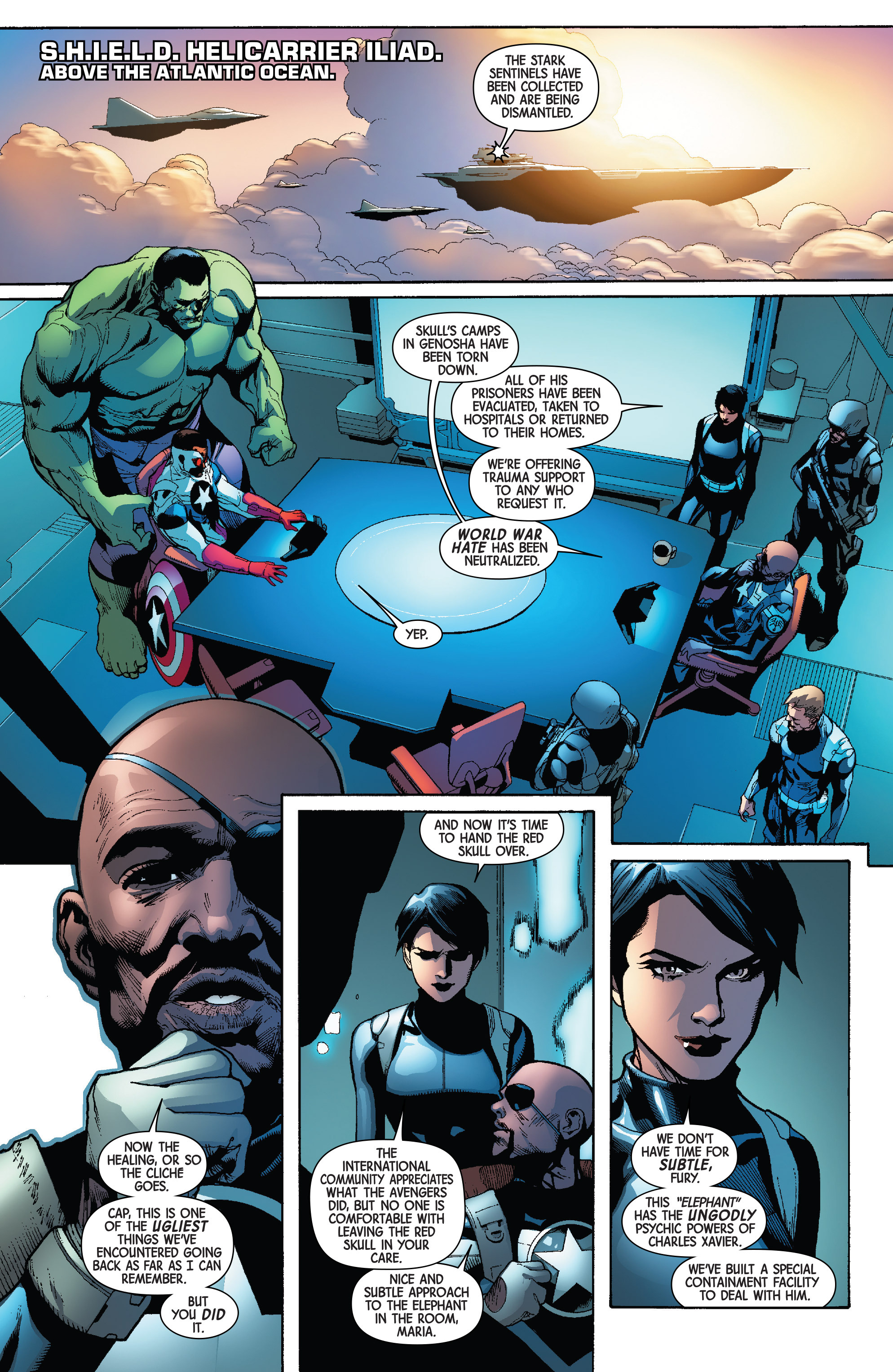 Read online Avengers & X-Men: AXIS comic -  Issue #4 - 5