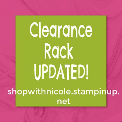 Stampin' Up! Clearance Rack Updated