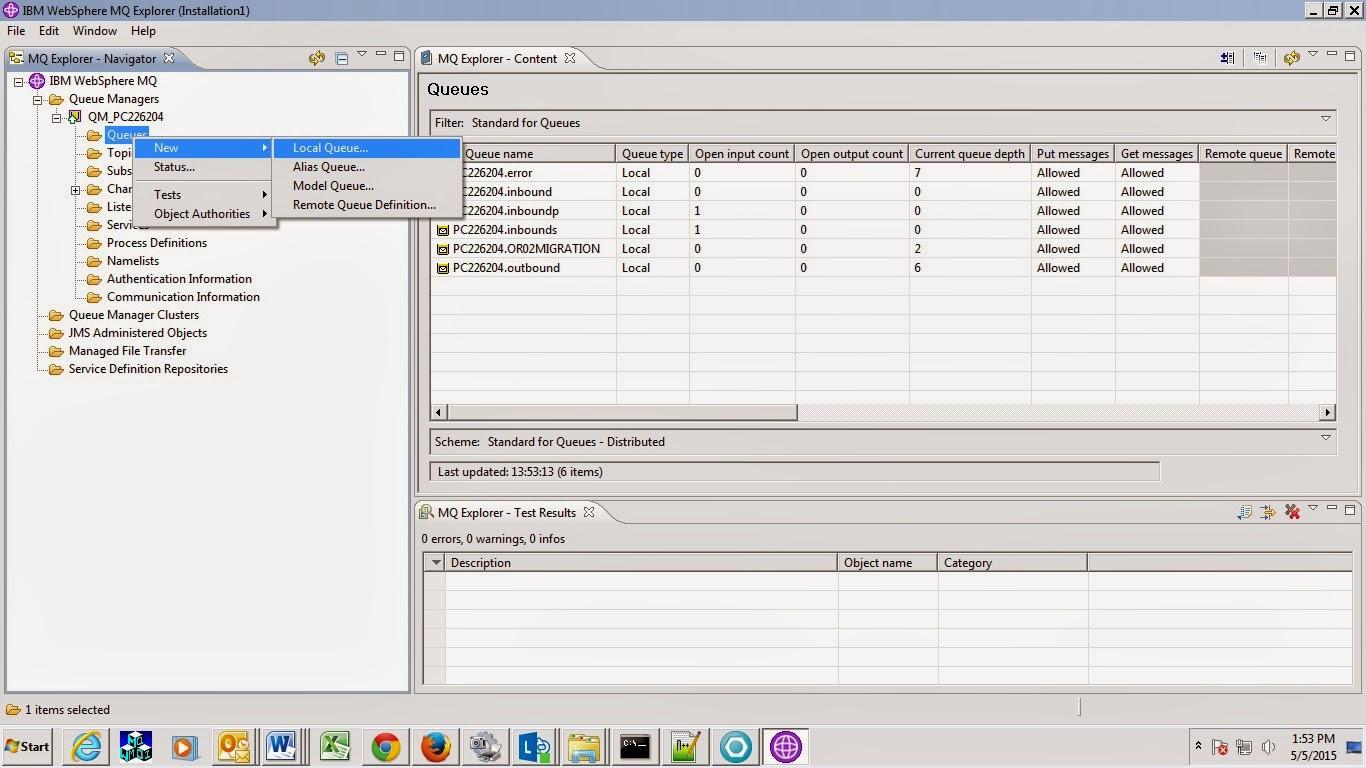 IBM Websphere commerce: Websphere MQ with IBM WCS