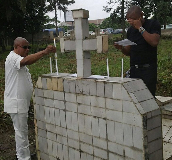 tonto dike mother's grave yard