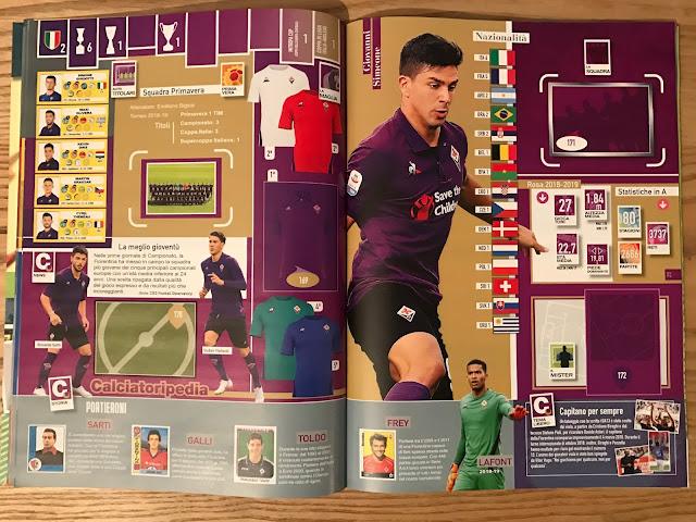 Figurine Fiorentina Calciatori 2018 2019
