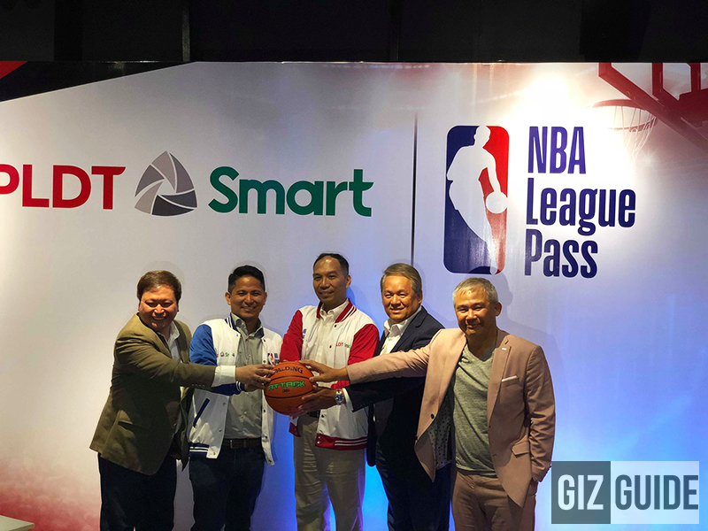NBA League Pass can now be accessed via PLDT and Smart! Here's how