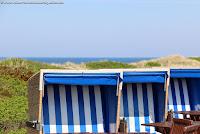 Sommer Sylt Strandkorb