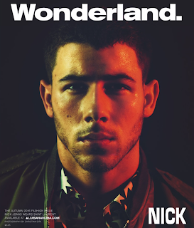 Nick Jonas covers WonderLand magazine talks about Goat and LGBT community. Details at JasonSantoro.com