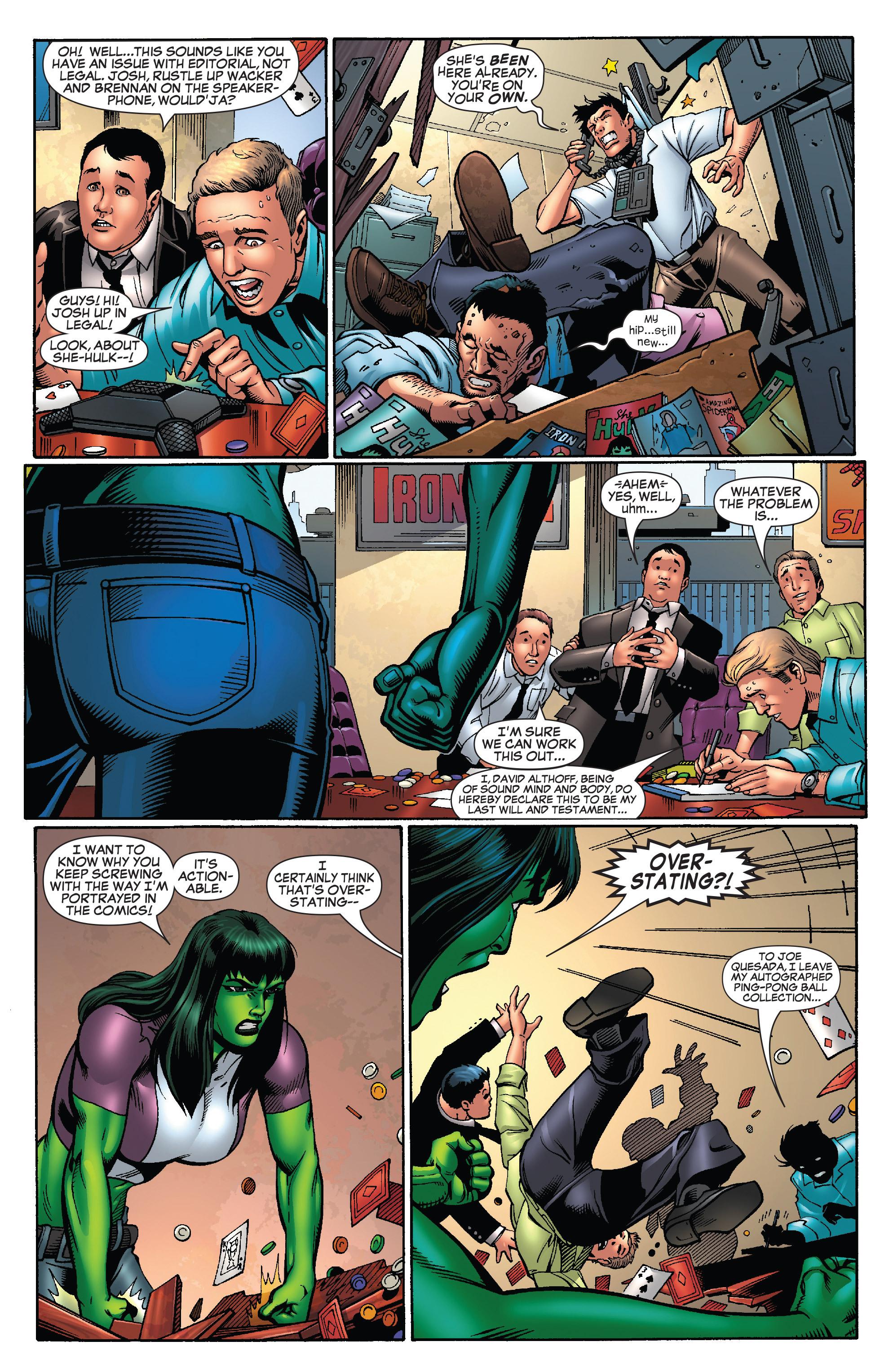 Read online She-Hulk (2005) comic -  Issue #25 - 32