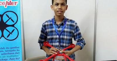 Pencipta Drone Tanpa Baling-Baling Pertama di Dunia Ternyata Remaja Asal Indonesia