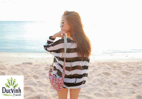 Cẩm nang cho bạn gái đi biển mùa hè
