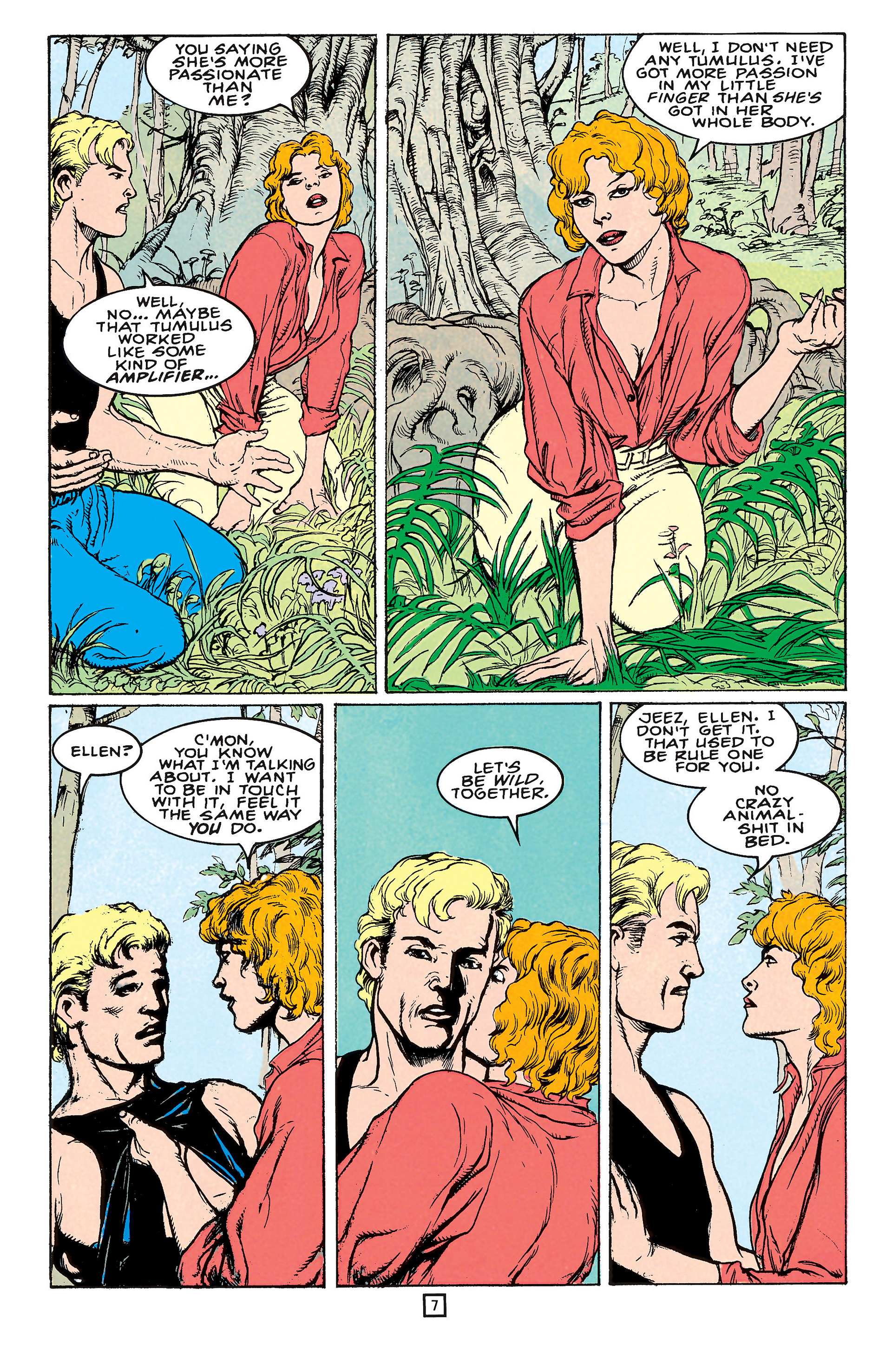 Read online Animal Man (1988) comic -  Issue #65 - 7