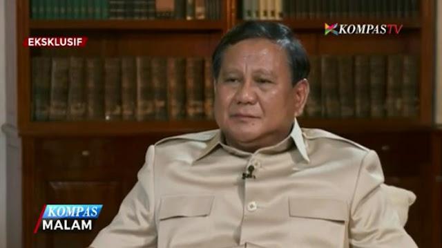 Prabowo: Banyak yang Tersakiti karena Ahok