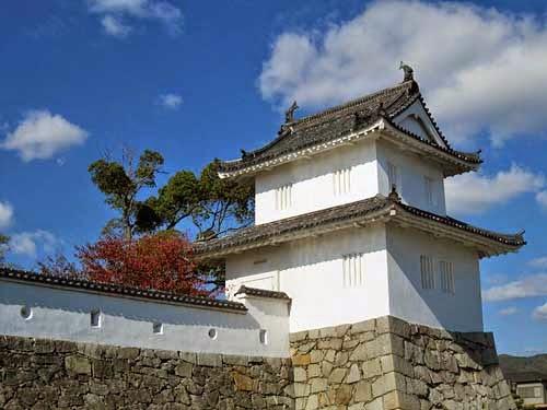 Ako Castle. Ako, Hyogo, Japan.