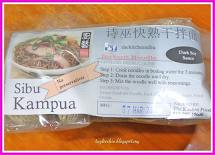 Lee Chin' Secret Garden Sibu' Instant Kampua Noodles