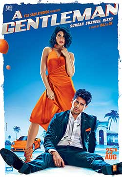 A Gentleman 2017 Hindi DVDRip 720p ESubs 1GB at movies500.me