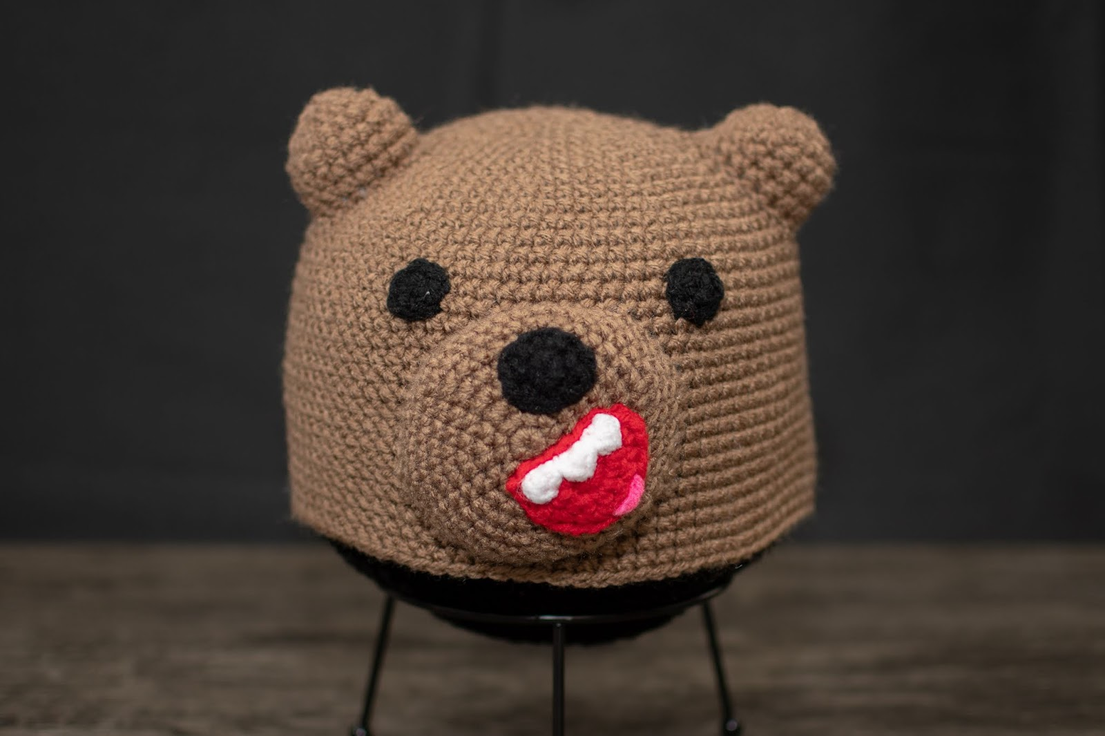 We Three Bears FREE Pattern by Suzy Dias inspired by We Bare Bears | 1066x1600