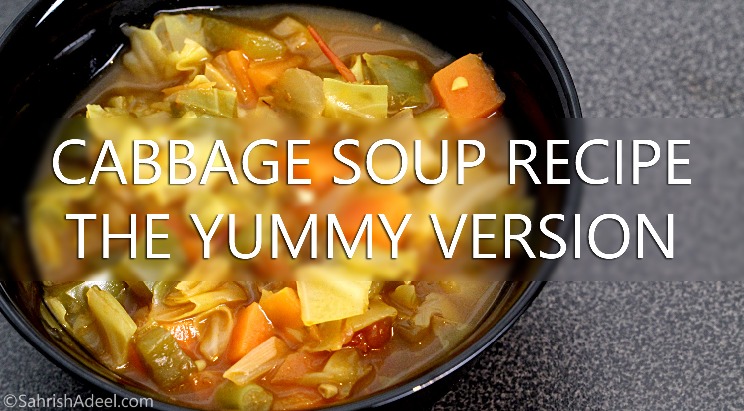 Cabbage soup recipe one that is really yummy cabbage soup diet i tried a few recipes for cabbage soup for the cabbage soup diet from the web but none of them was exactly what i would actually look forward to eating forumfinder Image collections