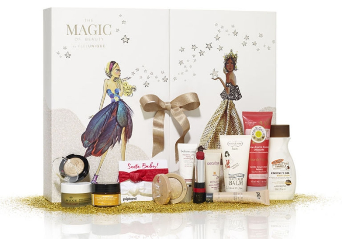 Feelunique beauty Advent calendar 2016 calendrier de l'avent Adventskalender