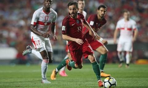 Bernardo Silva trong màu áo Bồ Đào Nha.