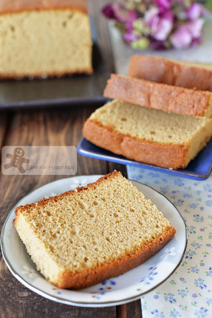 brown sugar japanese castella cake kasutera