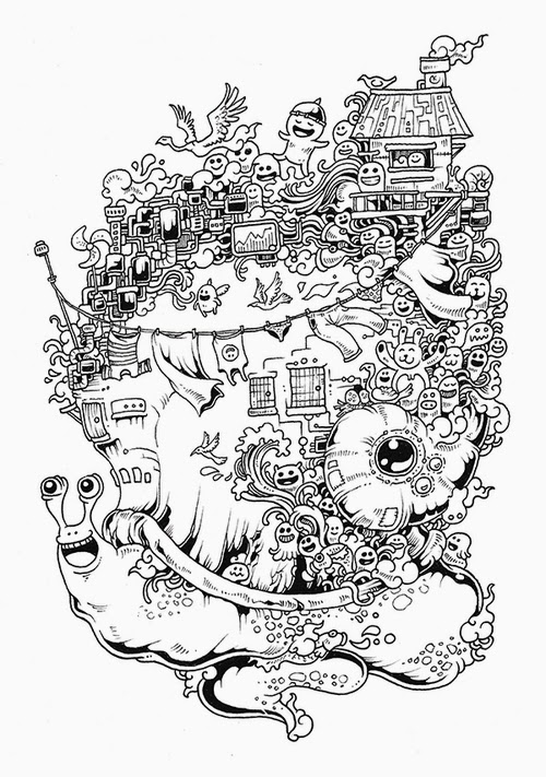 18-Filipino-Artist-Kerby-Rosanes-Doodle-Invasion-Drawings-www-designstack-co