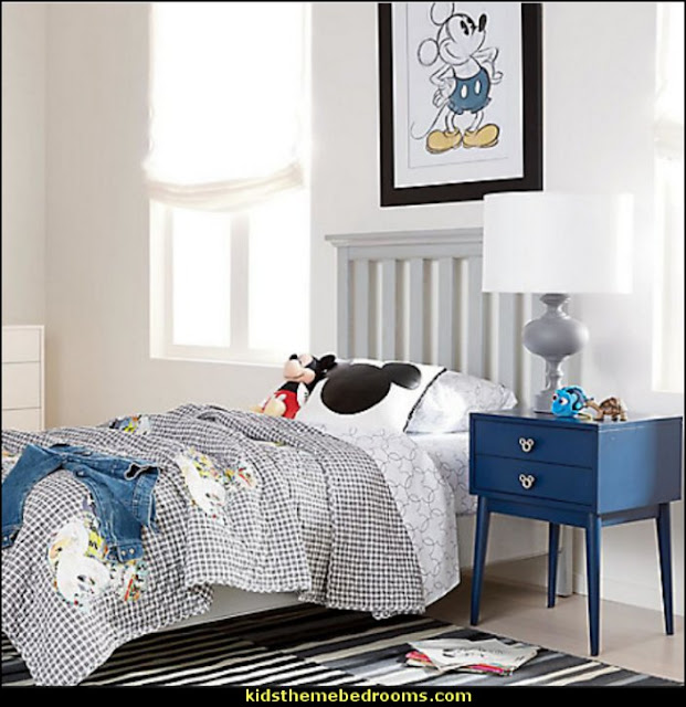 Decorating theme bedrooms - Maries Manor: Mickey Mouse bedroom ideas ...