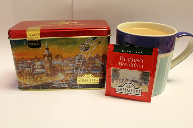 London tea caddy gift