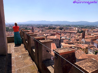 pistoia panorama torre cattedrale