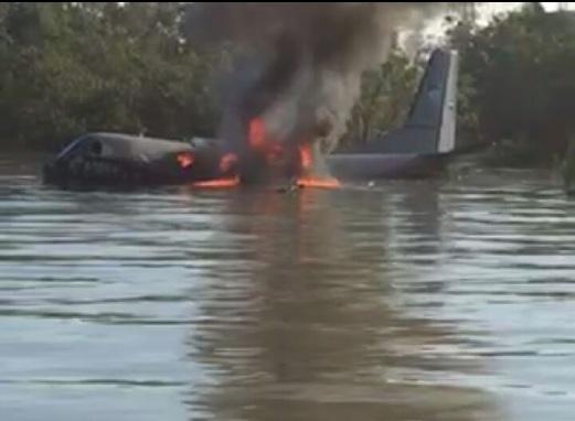 Pesawat TUDM Terhempas Di Kuala Selangor