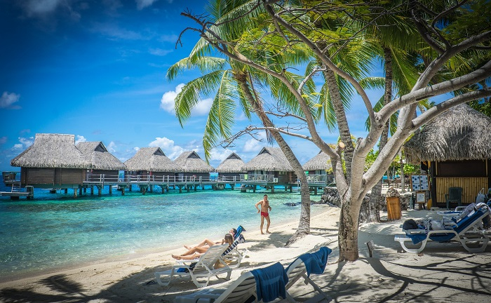 Bora Bora Island A Beautiful Volcanic Island In The