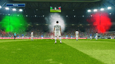 PES 2016 - Smokebomb (Italy stadium)