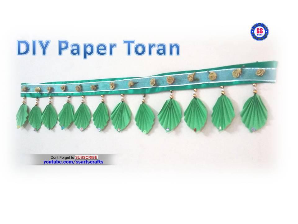 Diy Paper Toran