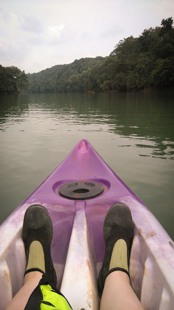 Kayaking on Kali; Dandeli, Karnataka, India
