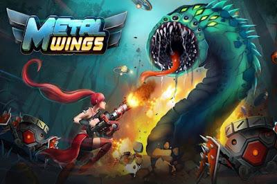 لعبة Metal Wings للاندرويد, لعبة Metal Wings مهكرة, لعبة Metal Wings للاندرويد مهكرة, تحميل لعبة Metal Wings apk مهكرة