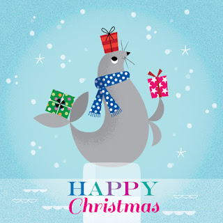 Amy Cartwright | Seals help Santa