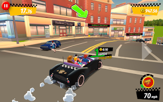 Free Download Crazy Taxi City Rush MOD APK Terbaru v1.7.0 Hack (Unlimited Money)