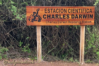 Entrance to Charles Darwin Research Station