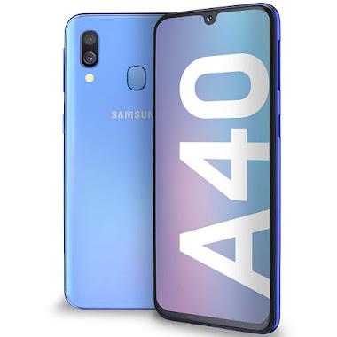 Samsung Galaxy A40 azul