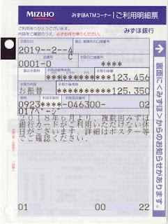 銀行 明細 カード みずほ クレジット