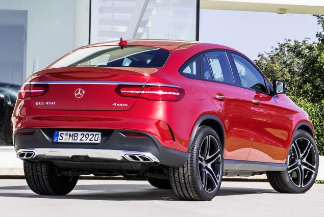 2017 Mercedes GLE Changes