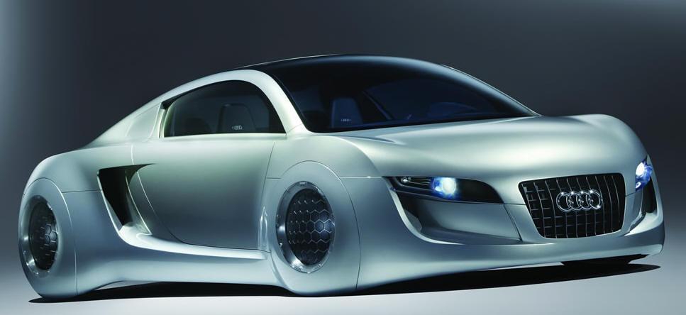 carro conceito da Audi Eu Robô