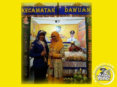 FOTO 1 :  Stand Kec. Dawuan, Pameran Pembangunan Subang 2017.