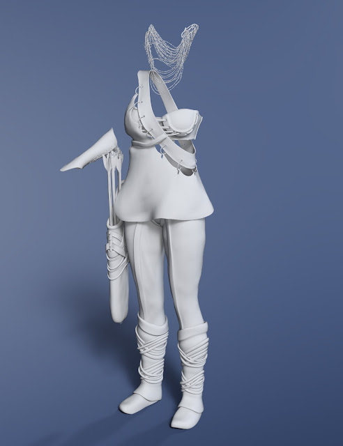 Dragon's Veil for Genesis 3 Female